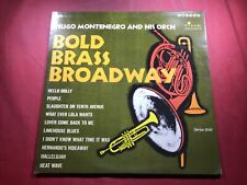 Q3-92 HUGO MONTENEGRO AND HIS ORCHESTRA Bold Brass Broadway ... TIME RECORDS