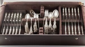 Reed & Barton Francis I Silverware Set Service for 12 w/ Case 115 Pieces Total