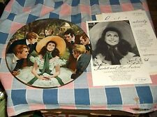 W S George Plate Gone With the Wind Golden Anniversary 1st Scarlett Her Suitors