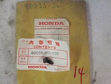 NEW OEM HONDA SPECIAL BOLT (6MM) CR 125 250 450 480 MR175 MT125 ATC250R ELSINORE