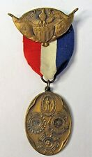 1926 RICHMOND LIGHT INFANTRY BLUES VIRGINIA England Belgium France medal badge +