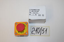 Drucktaster Not Aus Schalter XAL-J174 Nr. 210/51
