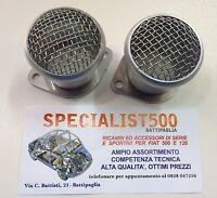 FIAT 500 F/L/R 126 COPPIA TROMBONCINO FILTRO ARIA SFIATO CARBURATORE WEBER 40 mm