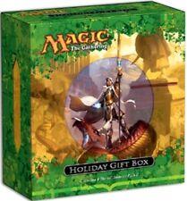 HOLIDAY GIFT BOX Magic Gathering Alt Art Karametra's Aco 4 Theros Booster Packs+