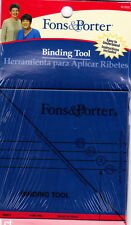 Fons & Porter Binding Tool - how to mitre corners of binding easily