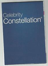 gts Celebrity Constellation...cruise ship Deck Plan /Pocket Guide
