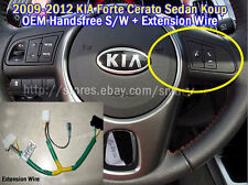 2009-2012 KIA Forte Cerato OEM Steering Handsfree Control Switch Assy + Ext Wire