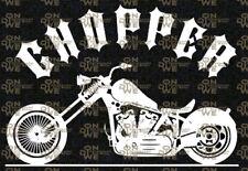 """Aufkleber """"Chopper"""" Autoaufkleber, Funaufkleber, Biker (1097)"""
