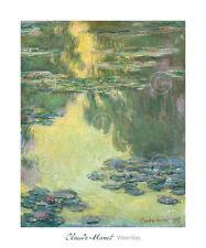 Nympheas ART PRINT Water Landscape 1907 by Claude Monet 26x28 Poster