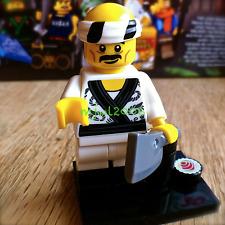 71019 LEGO NINJAGO MOVIE Minifigures Sushi Chef #19 FACTORY-SEALED cleaver