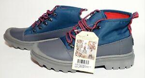 Toms Cordova Mens Legion Blue / Castlerrock Grey Poly Ripstop Boots Size 9.5