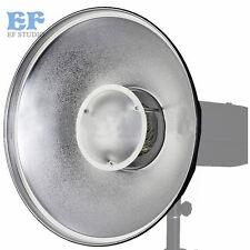 42cm Beauty Dish Studio Silver Reflector Radar Bowens Mount for Flash Strobe