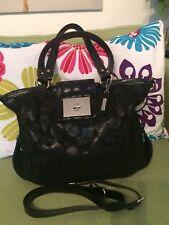 Cole Haan Black Handbag With Cross Body Strap EUC