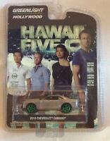 Greenlight 1:64 Hollywood 2010 Chevrolet Camaro Hawaii Five-O GREEN MACHINE