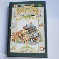 """""""Collecting David Winter Cottages"""" Hardcover Reference Book 1989 by John Hine"""