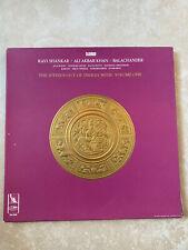 ANTHOLOGYOF INDIAN MUSIC LP Box Set Ravi Shankar Ali Khan Balachander 3 x Vinyl