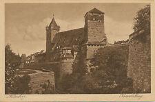 "D NÜRNBERG, ca. 1920 ungebr. Kupfertiefdruck-AK ""Kaiserstallung"""