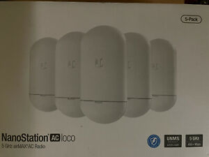 NEW! Ubiquiti Networks NS-5ACL-5 airMAX 5G NS ac loco 5-pack