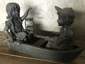 Antique Traditional 19th-Century Style Garden Statue / Sculpture