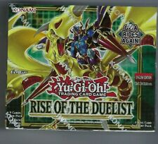 Yugioh Rise of The Duelist Factory Sealed Booster Box 1st Edition