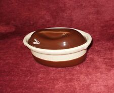 Emile Henry 34.5cm Oval Pie Gratin Oven Dessert Baking Dish Nougat White Ceramic