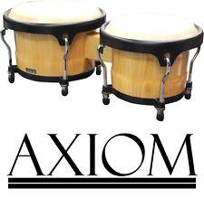 """Axiom Bongo Drums - 7"""" & 8.5"""" White Toon Wood Bongo LP Style"""