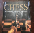 """Chess: 5334 Problems, Combinations, and Games Polgr, Lszl - 3"""" Book+ ENORMOUS!"""