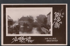 Unknown Location Postcard - The Village, Back-Water    T442