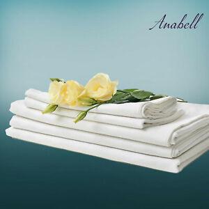 Bettlaken Betttücher Leintuch Spannbetttuch 100% Baumwole ohne Gummizug