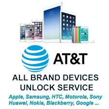 AT&T iPhone, Samsung, HTC Unlock Service for all Phones Models and Tablets