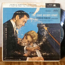 """The Eddie Duchin Story Part 2 EP 7"""" 45 Capitol with picture sleeve VG+"""