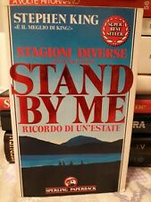 LIBRO STAND BY ME STAGIONI DIVERSE STEPHEN KING SPERLING PAPERBACK