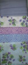 5 YARDS  Quilt Fabric Kit - Michael Miller Violet Bouquet
