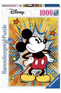 Ravensburger 15391 Retro Mickey Mouse 1000pc Jigsaw Puzzle, SAME DAY DISPATCH