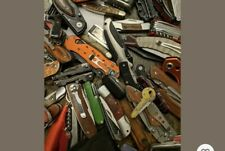 1 Random TSA Confiscated Knive Pocket Knive, Multi Tool, Blade!!