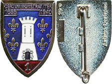 1° Régiment de Cuirassiers, porte noire, plat, translucide,A.Bertrand 475 (5775)