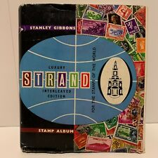 Stanley Gibbons Strand Luxury Stamp Album - 32nd Edition - 1967 - 800+ Stamps