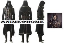 Brand New Top Quality Dishonored Video Game Corvo Attano Cosplay Costume