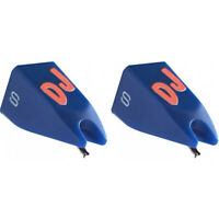 Ortofon DJ S Replacement stylus for Ortofon Concorde and OM DJ S – Blue - PAIR