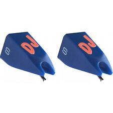 Ortofon DJ S Replacement stylus for Ortofon Concorde and OM DJ S – Blue - PAIR