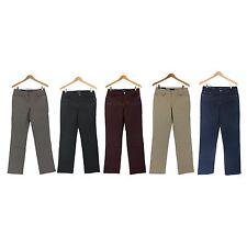 NWT Bandolino Jeans Women Caroline Slim Straight Stretch Pants in 5 colors 2-18
