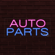 "Brand New ""Auto Parts"" 32x13X1 Inch Led Flex Indoor Sign 30013"