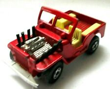 MATCHBOX LESNEY  SUPERFAST No 2 Jeep Hot Rod Red Yellow  Excellent condition