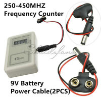 RF Remote Control Frequency Detector Tester Checker for Auto Car Meter Counter