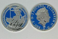 2019 1 oz Silver British Britannia Colorized w//COA