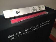 """Bang & Olufsen / B&O BeoPlay V1 - 32"""" Speaker Cover/Insert - Red"""