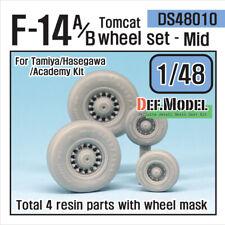 DEF.MODEL, DW48010, F-14A Tomcat Wheel set- Mid (for TAMIYA/Hasegawa 1/48) ,1/48