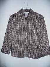 Jones New York 95% Wool Brown Women's Jacket-10P