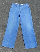 Vintage 1970s Sedgefield Jeans Talon Zipper Made In USA sz 33