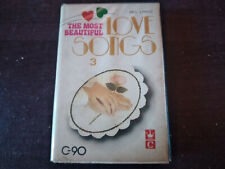 VARIOUS ARTISTS - Most Beautiful Love Songs 3 CASSETTE TAPE / Made In Indonesia